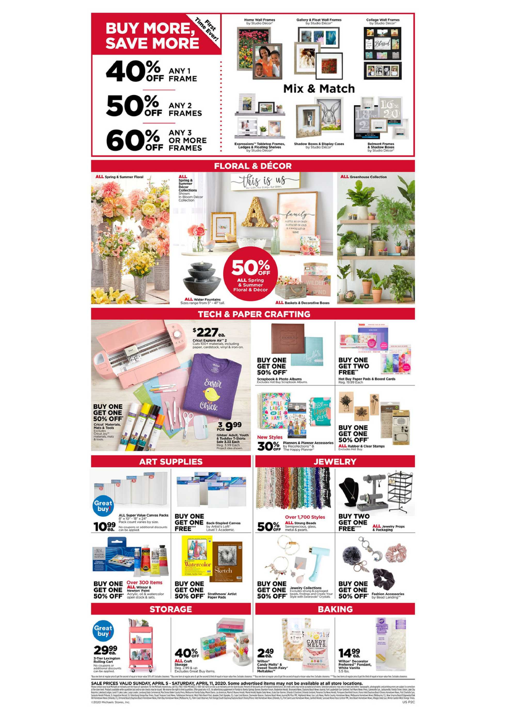 Michaels - deals are valid from 04/05/20 to 04/11/20 - page 2.