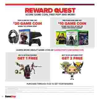 GameStop - deals are valid from 10/21/20 to 01/01/21 - page 57.