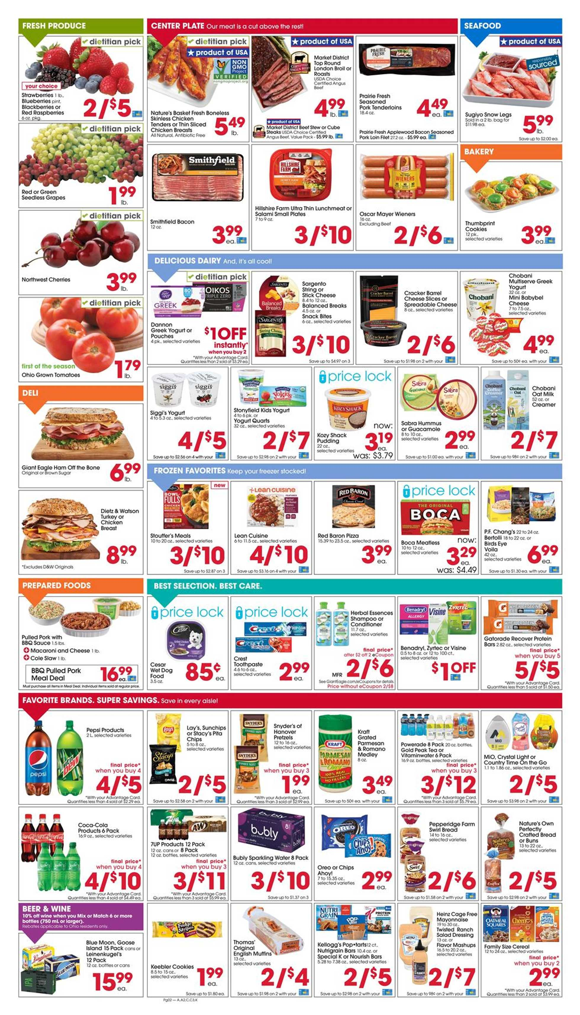Giant Eagle - deals are valid from 07/16/20 to 07/22/20 - page 2.
