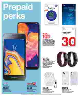 Target - deals are valid from 09/06/20 to 09/12/20 - page 12.
