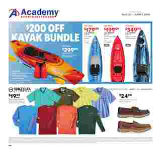 Academy Sports + Outdoors - deals are valid from 05/26/19 to 06/01/19 - page 19.