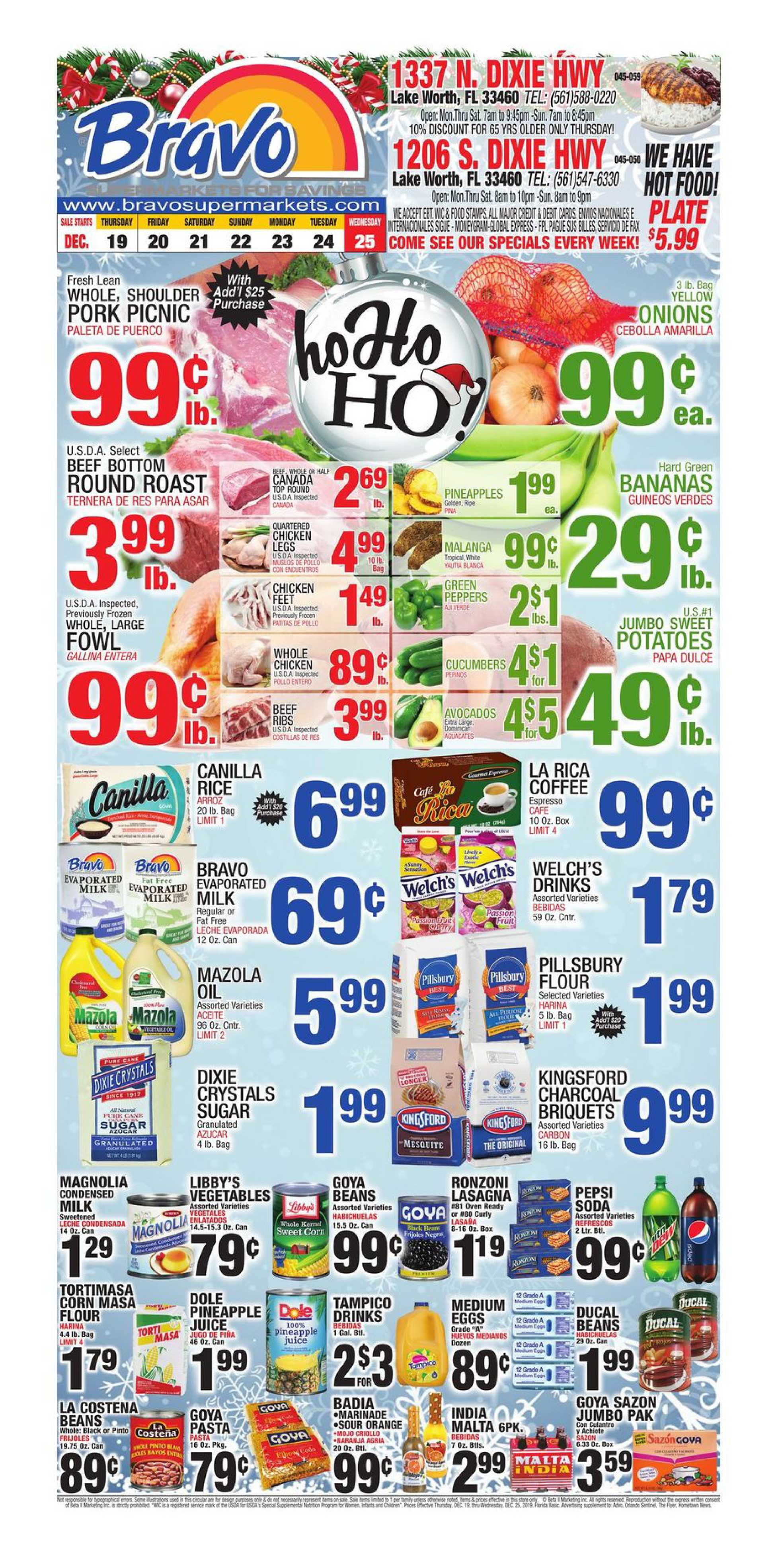 Bravo - deals are valid from 12/19/19 to 12/25/19 - page 1.