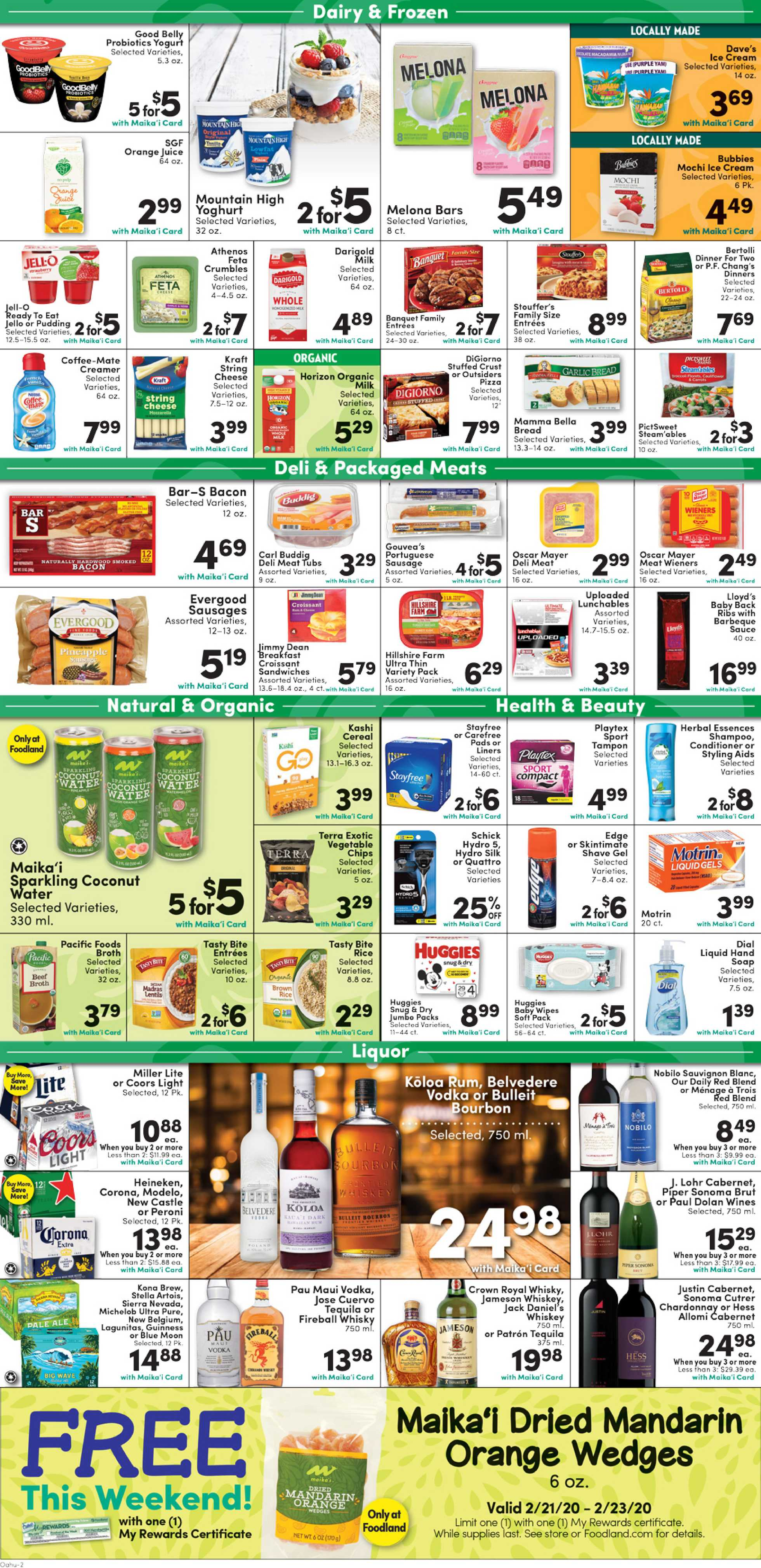 Foodland - promo starting from 02/19/20 to 02/25/20 - page 2.