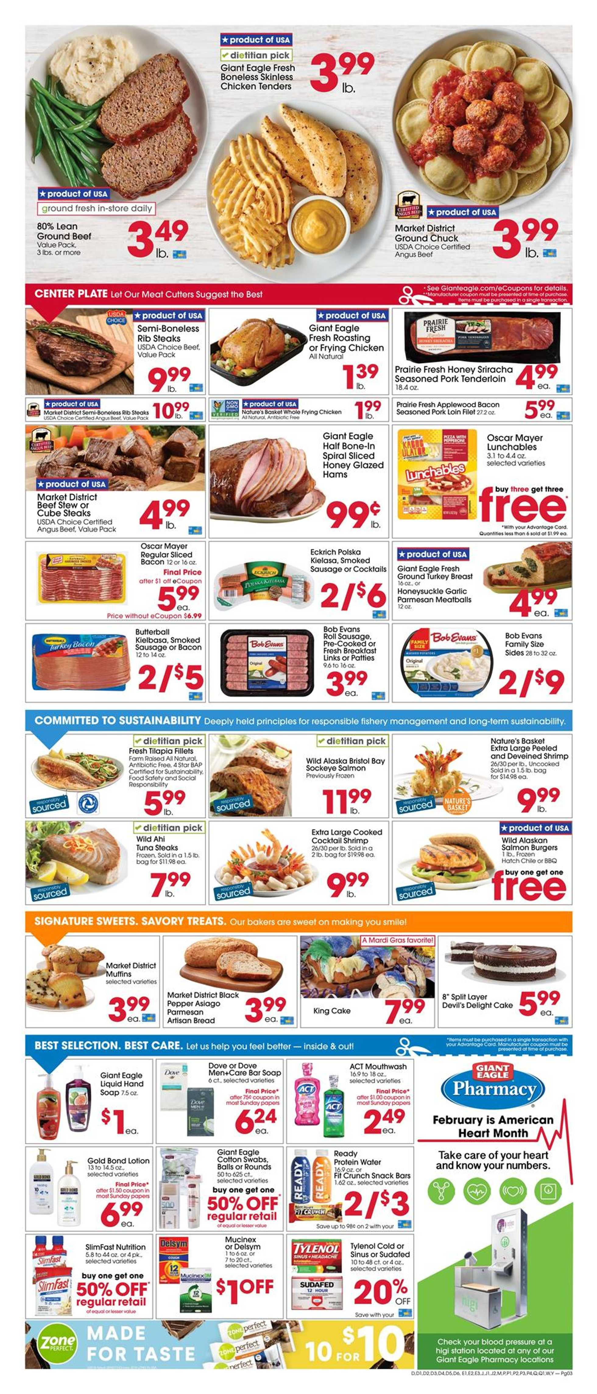 Giant Eagle - promo starting from 02/20/20 to 02/26/20 - page 3.