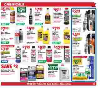 O'reilly - deals are valid from 11/25/20 to 12/29/20 - page 11.