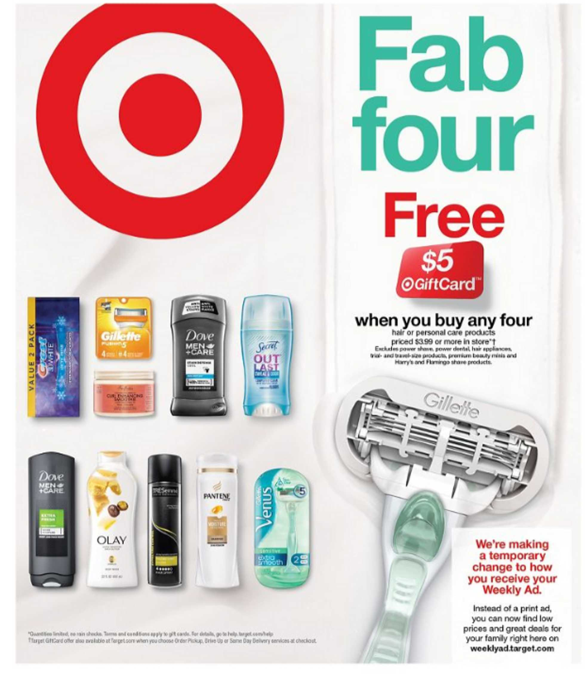 Target - deals are valid from 04/26/20 to 05/02/20 - page 1.