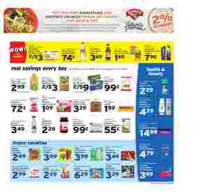 Hannaford - deals are valid from 08/09/20 to 08/15/20 - page 7.