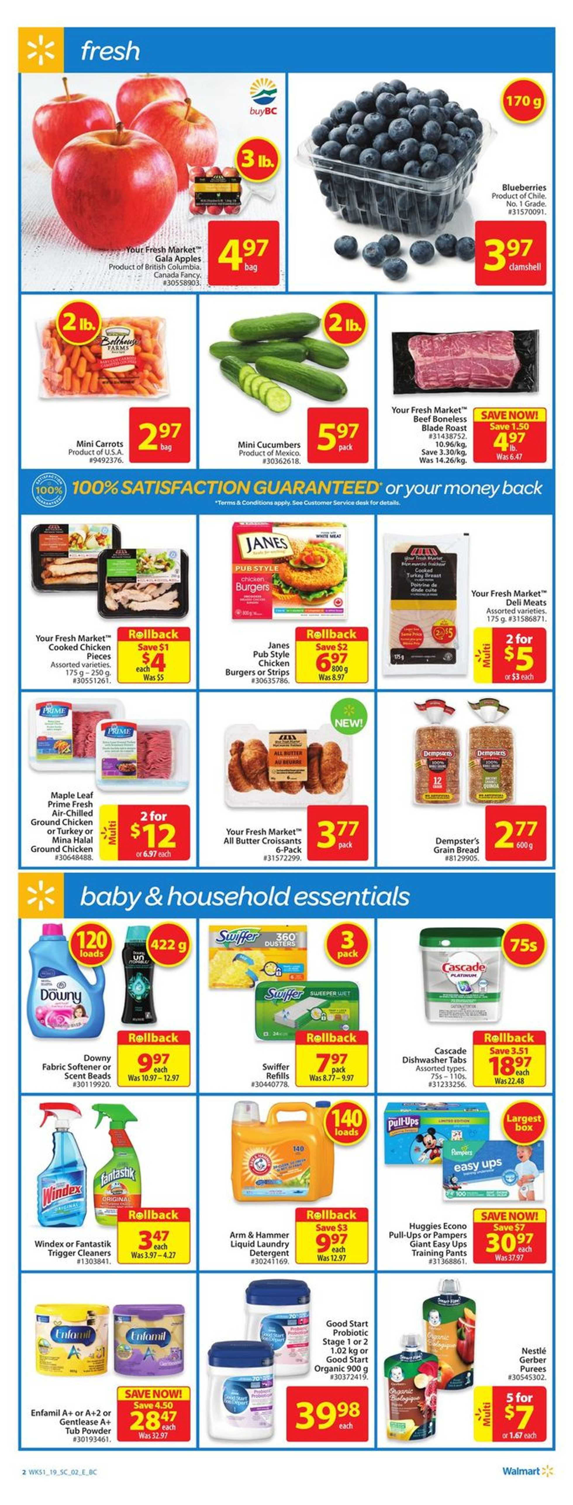 Walmart - deals are valid from 01/10/19 to 01/16/19 - page 2.