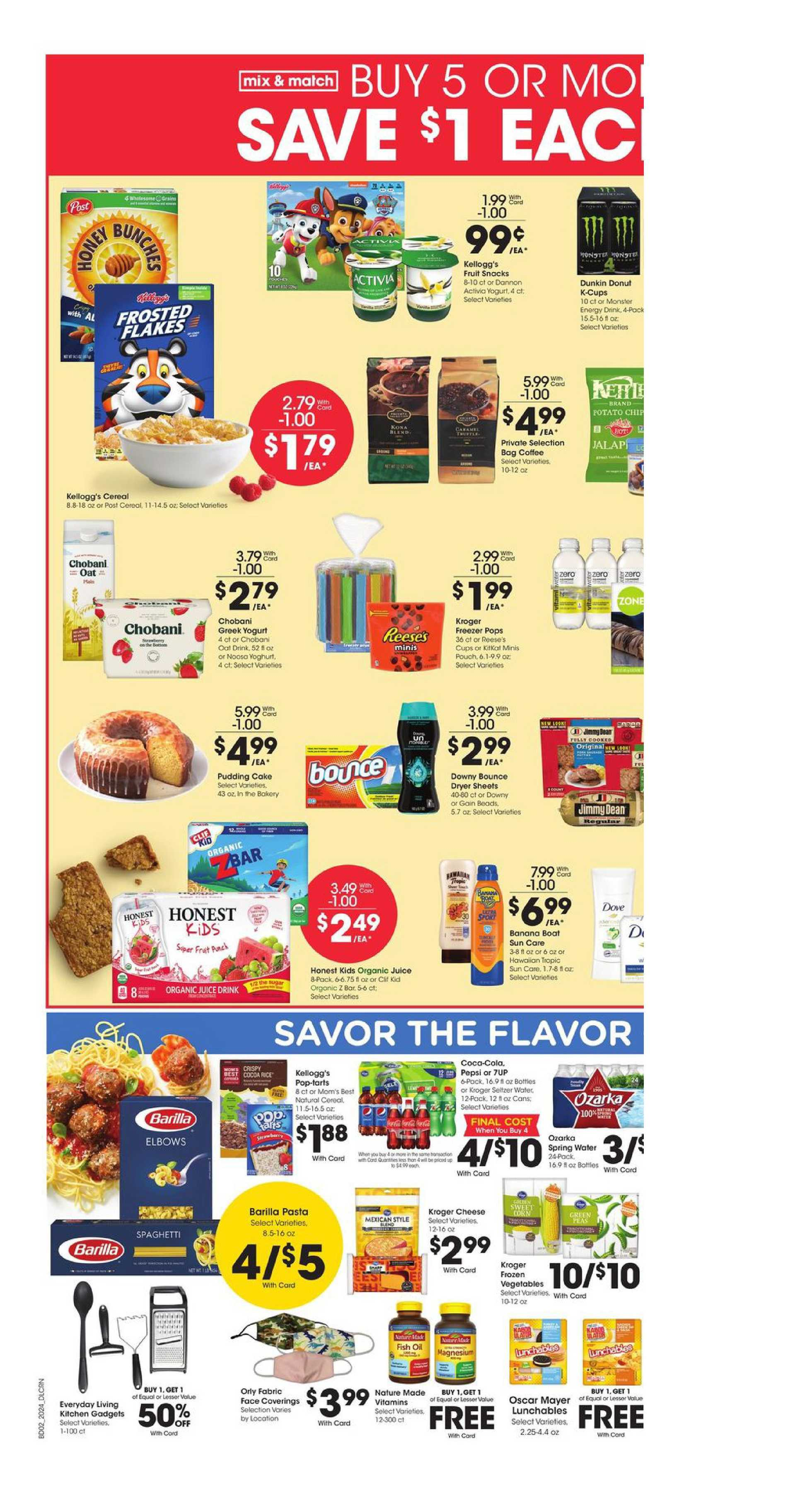 Kroger - deals are valid from 07/15/20 to 07/21/20 - page 4.