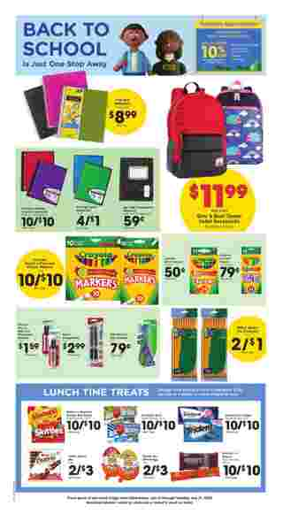 Kroger - deals are valid from 07/15/20 to 07/21/20 - page 7.