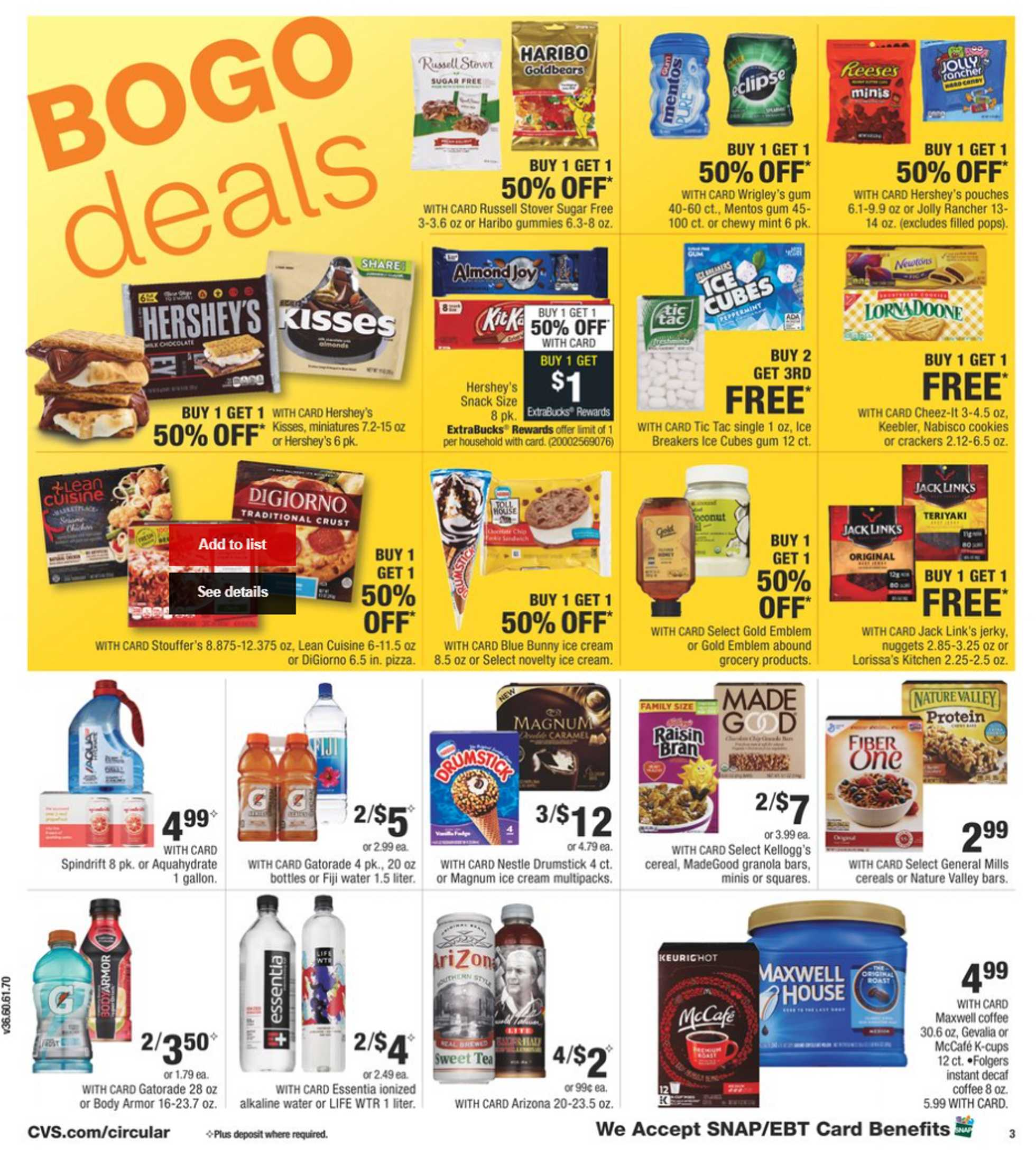 CVS - deals are valid from 06/14/20 to 06/20/20 - page 4.