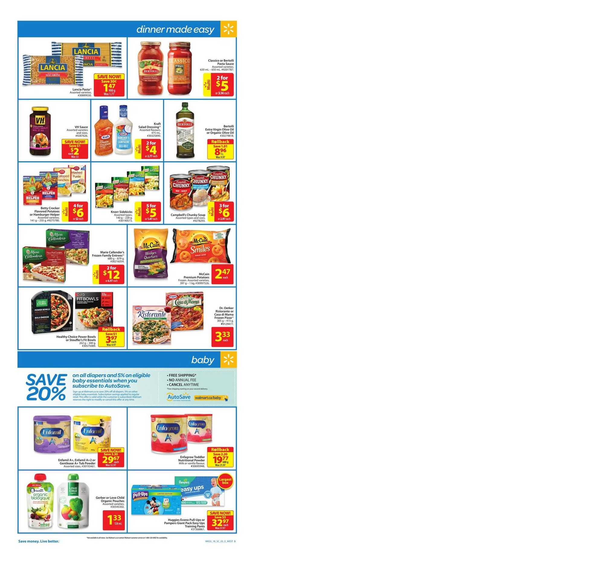 Walmart - deals are valid from 09/06/18 to 09/19/18 - page 3.