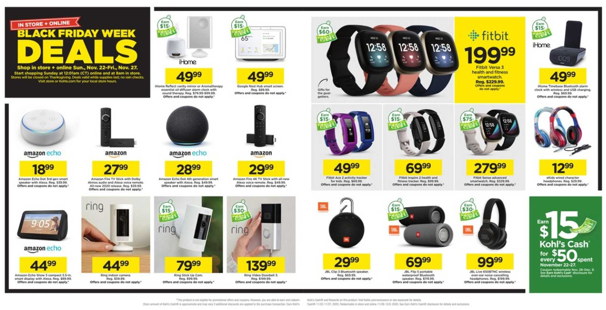 Kohl's - deals are valid from 11/22/20 to 11/27/20 - page 3.