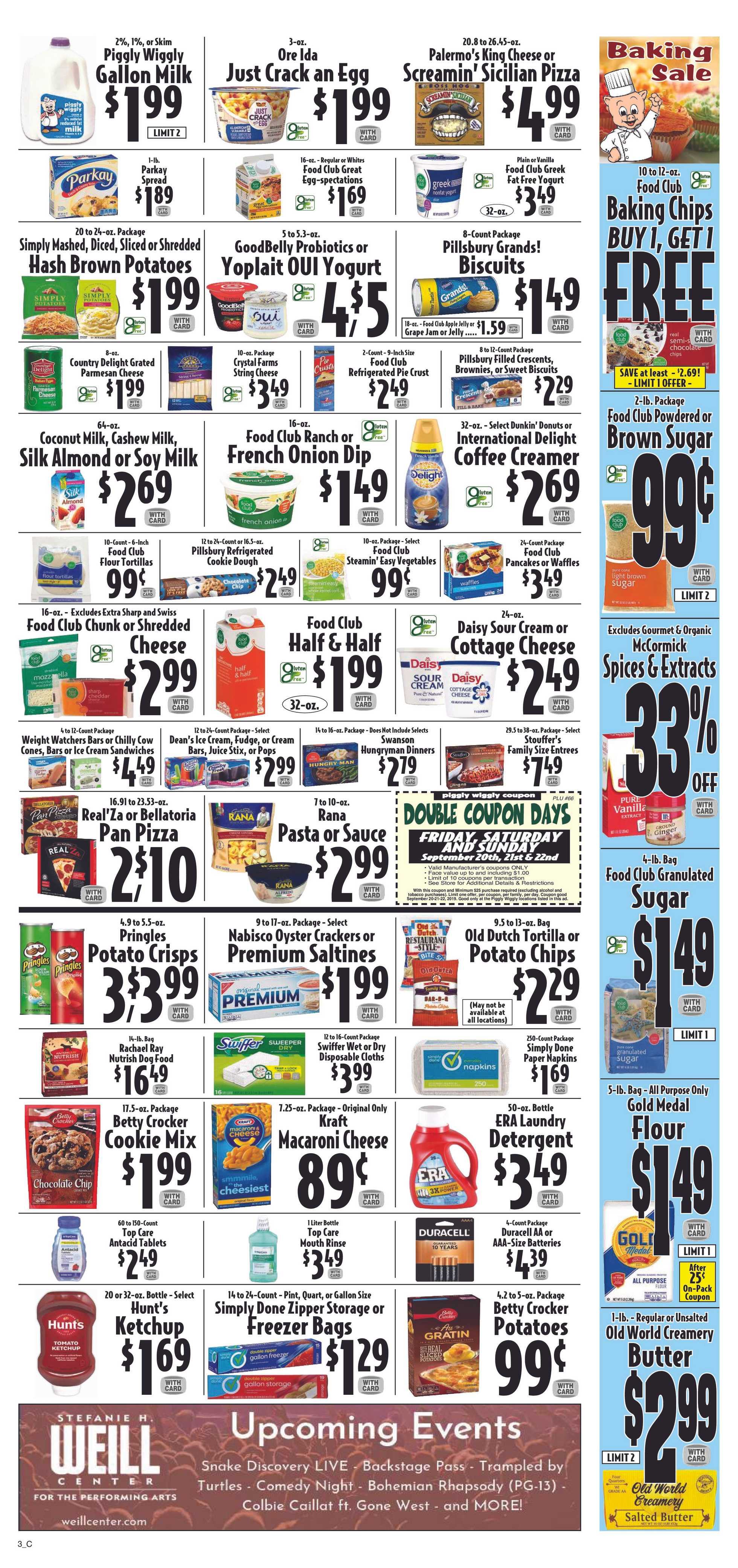Piggly Wiggly - deals are valid from 09/18/19 to 09/24/19 - page 3.