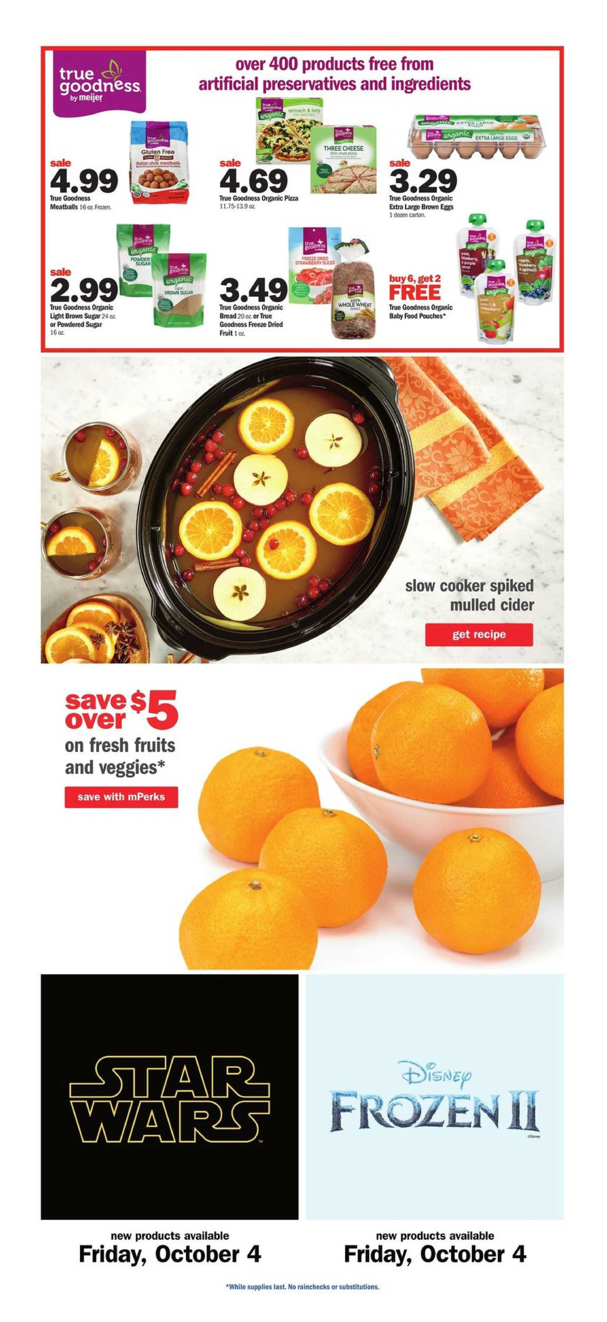 Meijer - deals are valid from 09/29/19 to 10/05/19 - page 4.