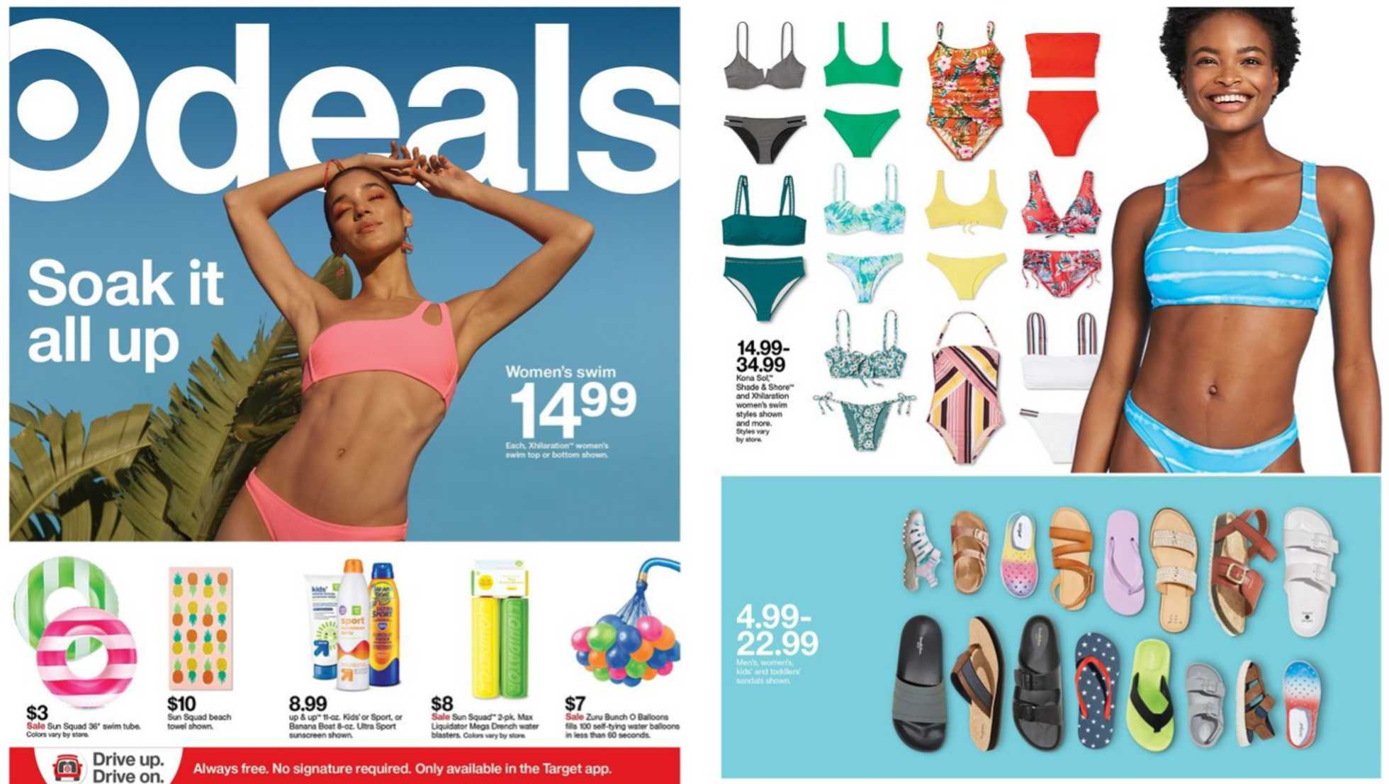 Target - deals are valid from 06/21/20 to 06/27/20 - page 1.