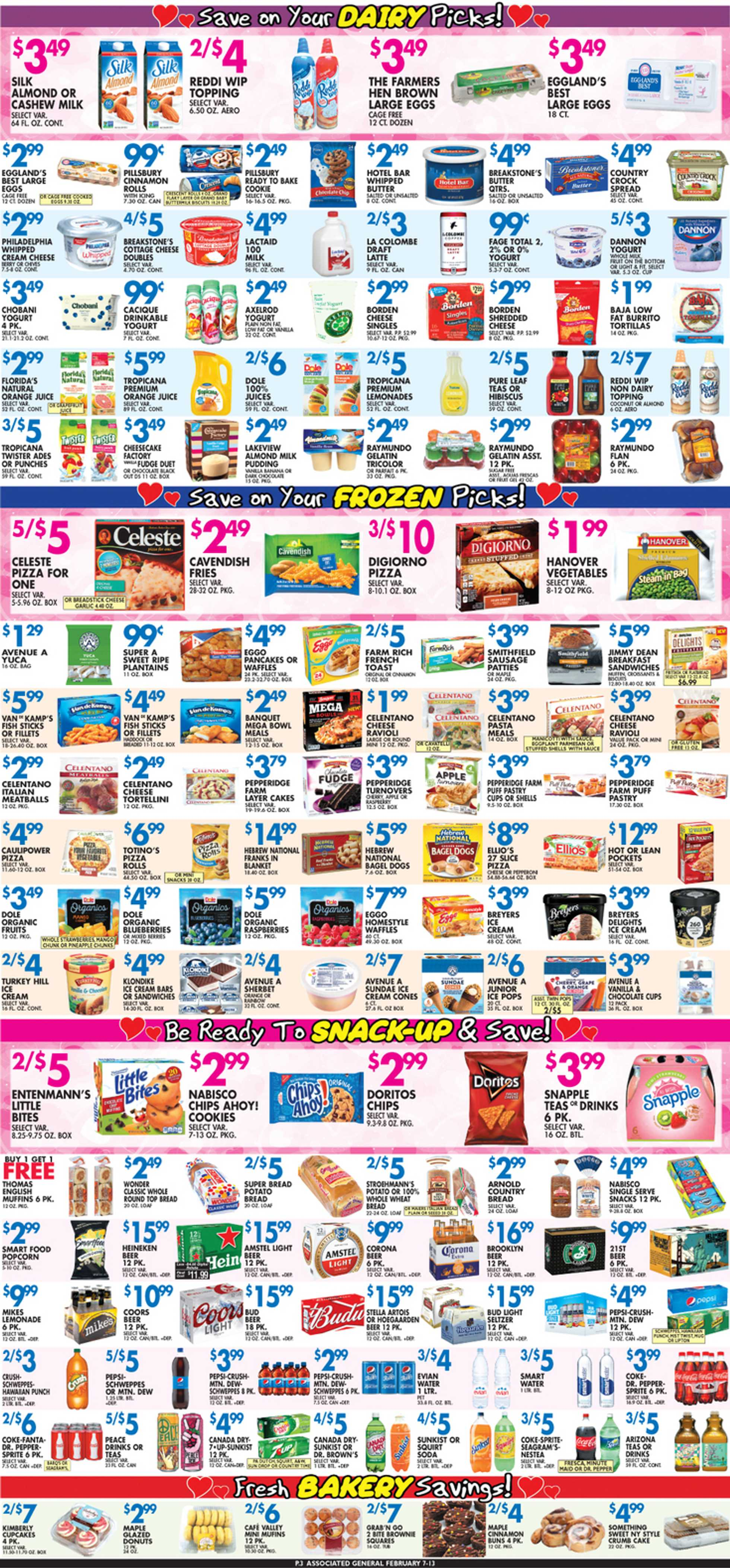 Associated Supermarkets - deals are valid from 02/07/20 to 02/13/20 - page 3.