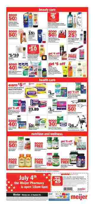 Meijer - deals are valid from 06/30/19 to 07/06/19 - page 10.