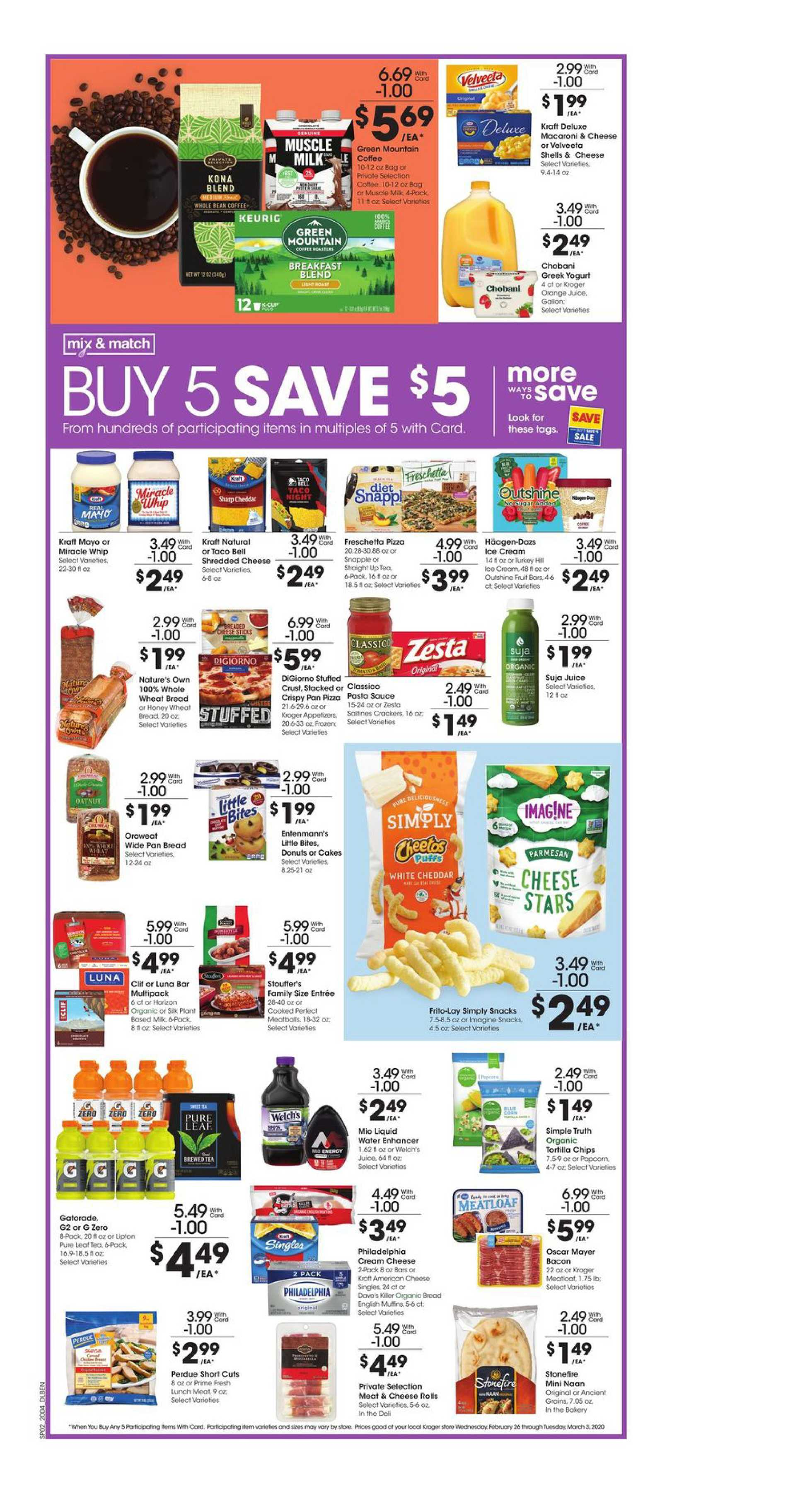 Kroger - deals are valid from 02/26/20 to 03/03/20 - page 3.