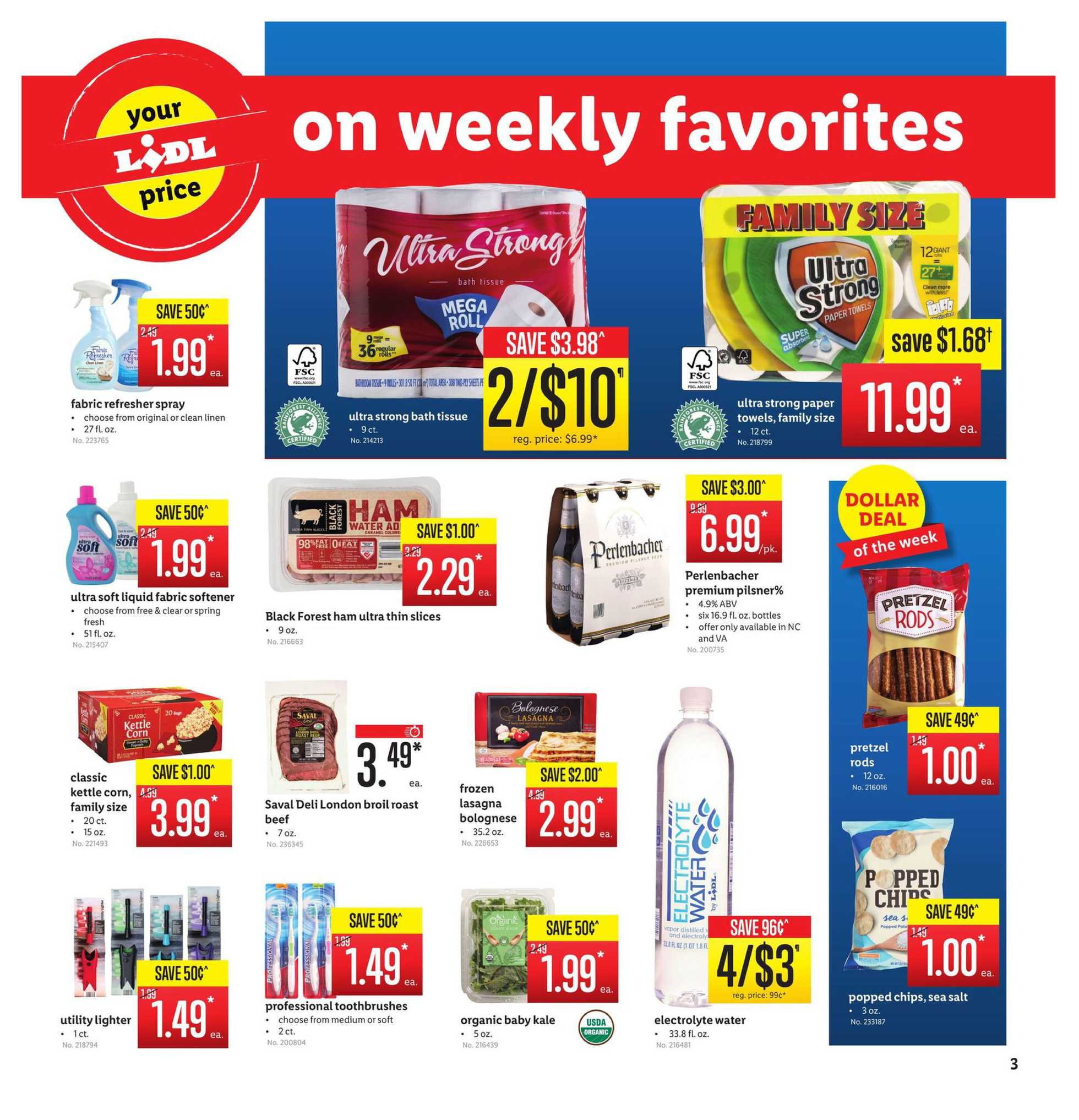 Lidl - deals are valid from 10/30/19 to 11/05/19 - page 3.