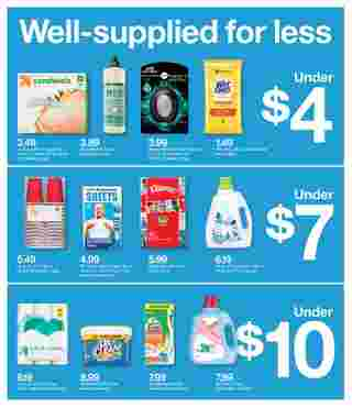 Target - deals are valid from 08/23/20 to 08/29/20 - page 23.