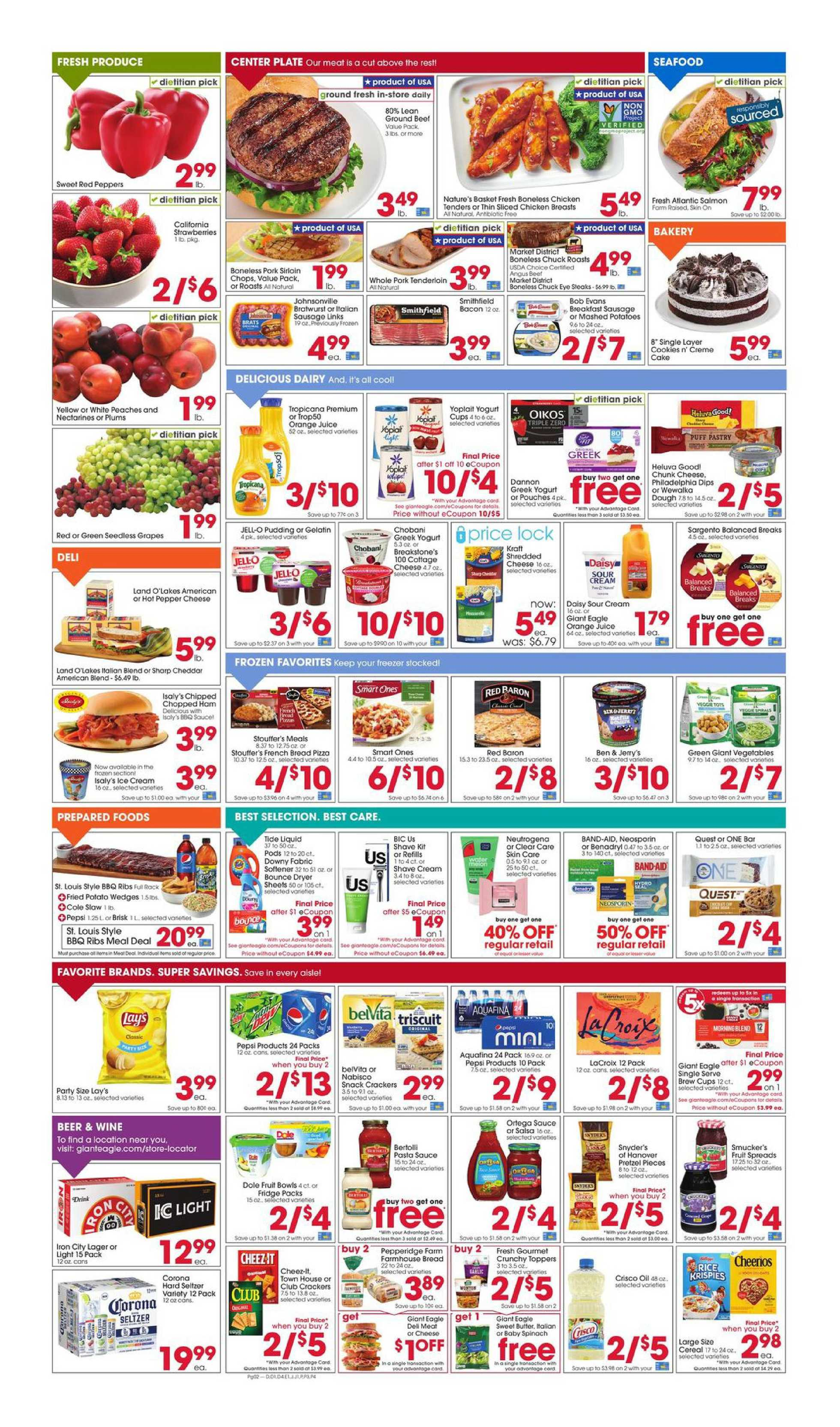 Giant Eagle - deals are valid from 08/06/20 to 08/12/20 - page 2.