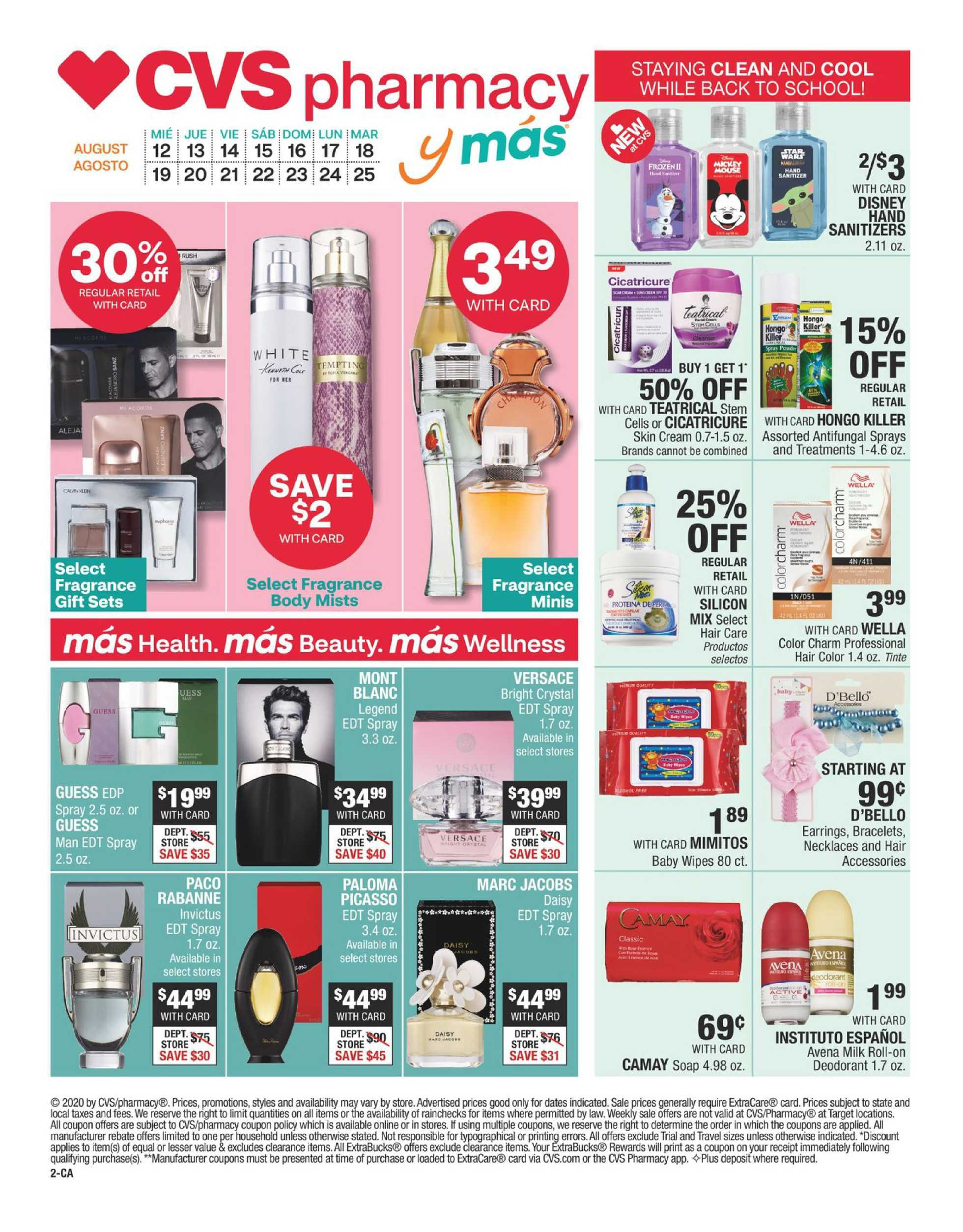 CVS - deals are valid from 08/12/20 to 08/25/20 - page 2.