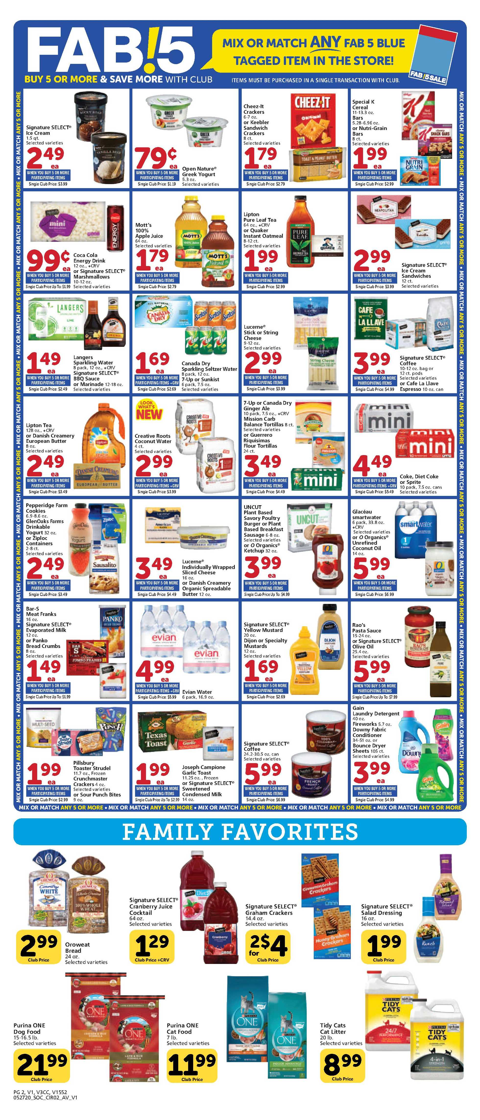 Vons - deals are valid from 05/27/20 to 06/02/20 - page 2.