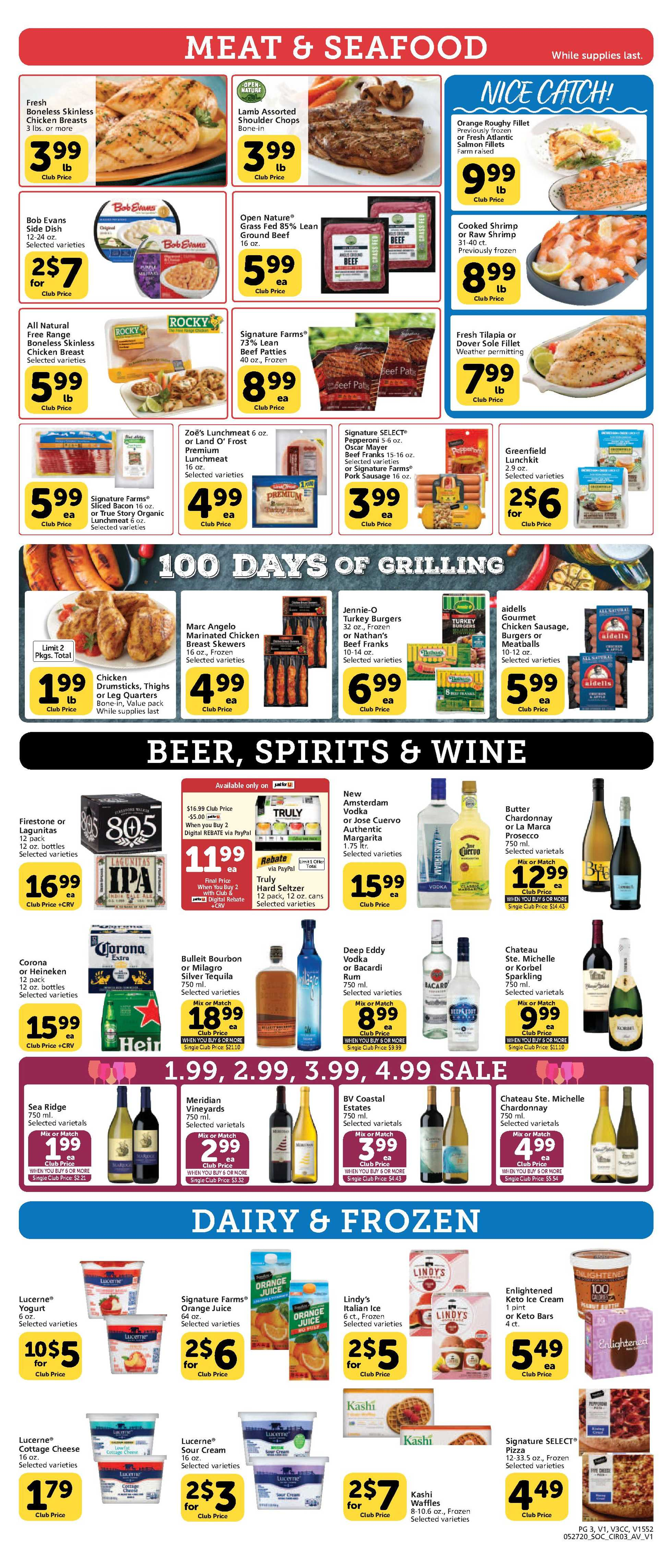 Vons - deals are valid from 05/27/20 to 06/02/20 - page 3.
