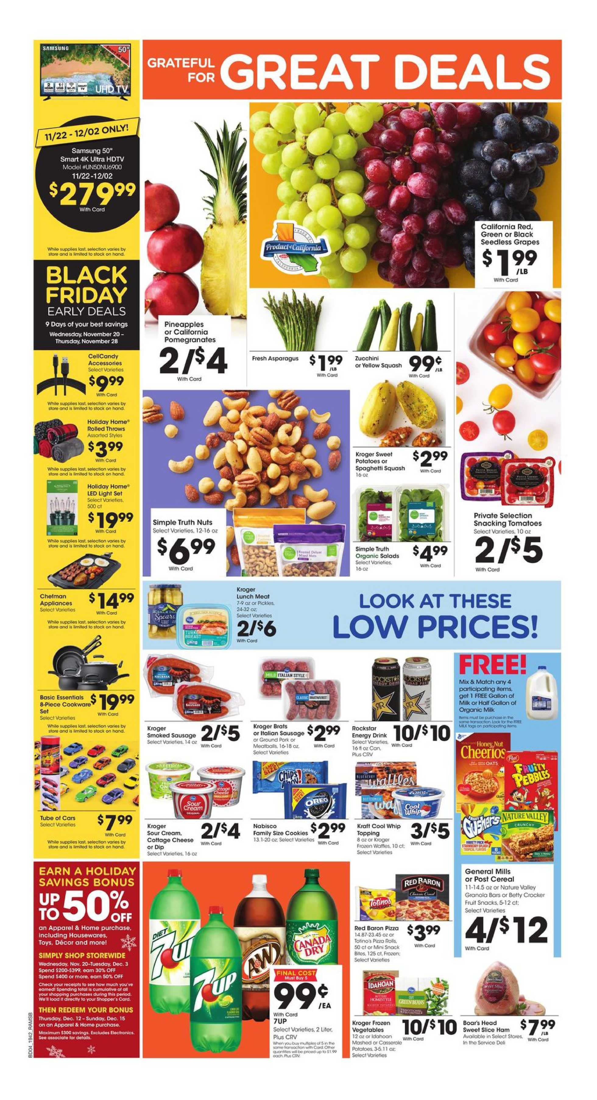 Ralphs - deals are valid from 11/20/19 to 11/28/19 - page 4.