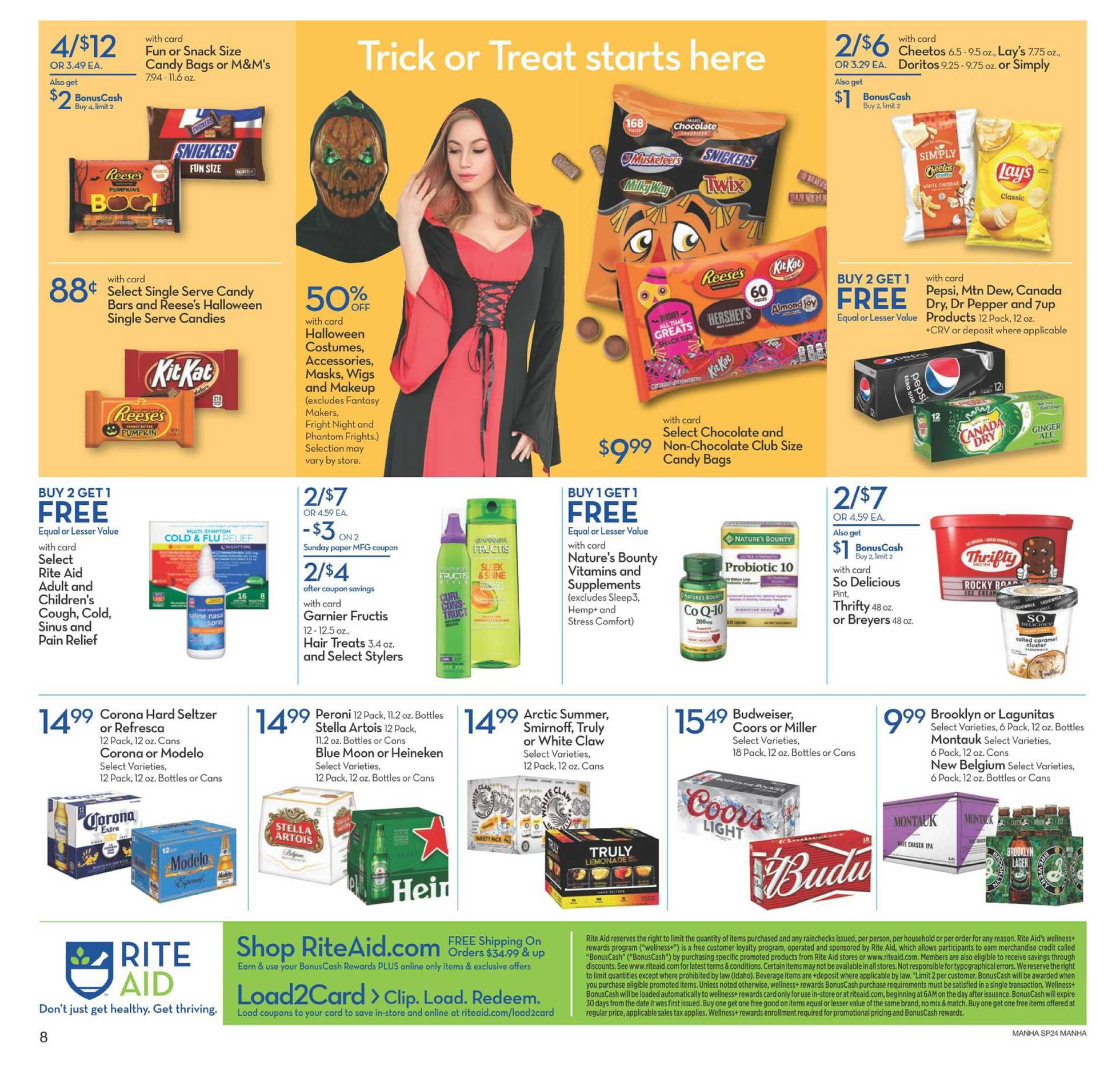 Rite Aid - deals are valid from 10/18/20 to 10/24/20 - page 3.