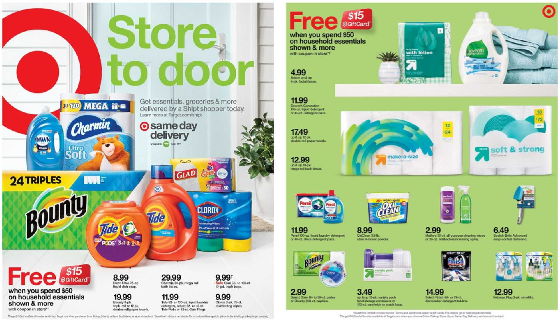 Target - deals are valid from 03/01/20 to 03/07/20 - page 1.