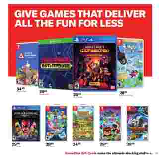 GameStop - deals are valid from 10/21/20 to 01/01/21 - page 28.
