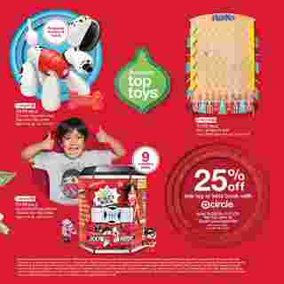 Target - deals are valid from 10/25/20 to 11/21/20 - page 44.