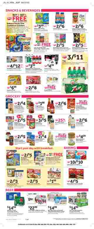 Stop & Shop - deals are valid from 10/09/20 to 10/15/20 - page 10.