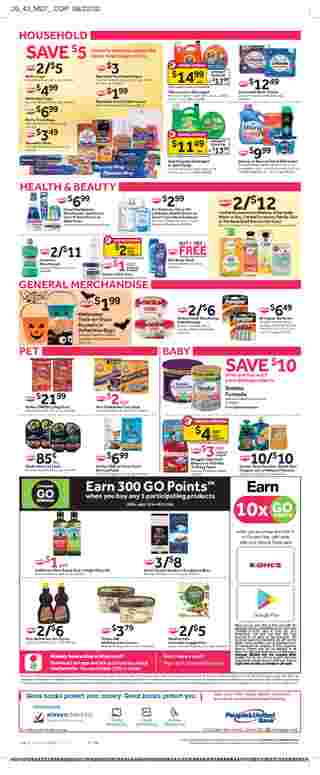 Stop & Shop - deals are valid from 10/09/20 to 10/15/20 - page 11.