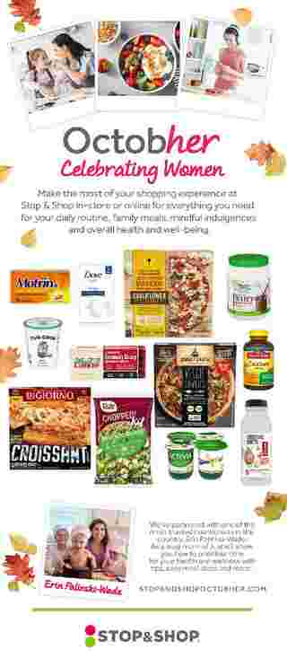 Stop & Shop - deals are valid from 10/09/20 to 10/15/20 - page 6.