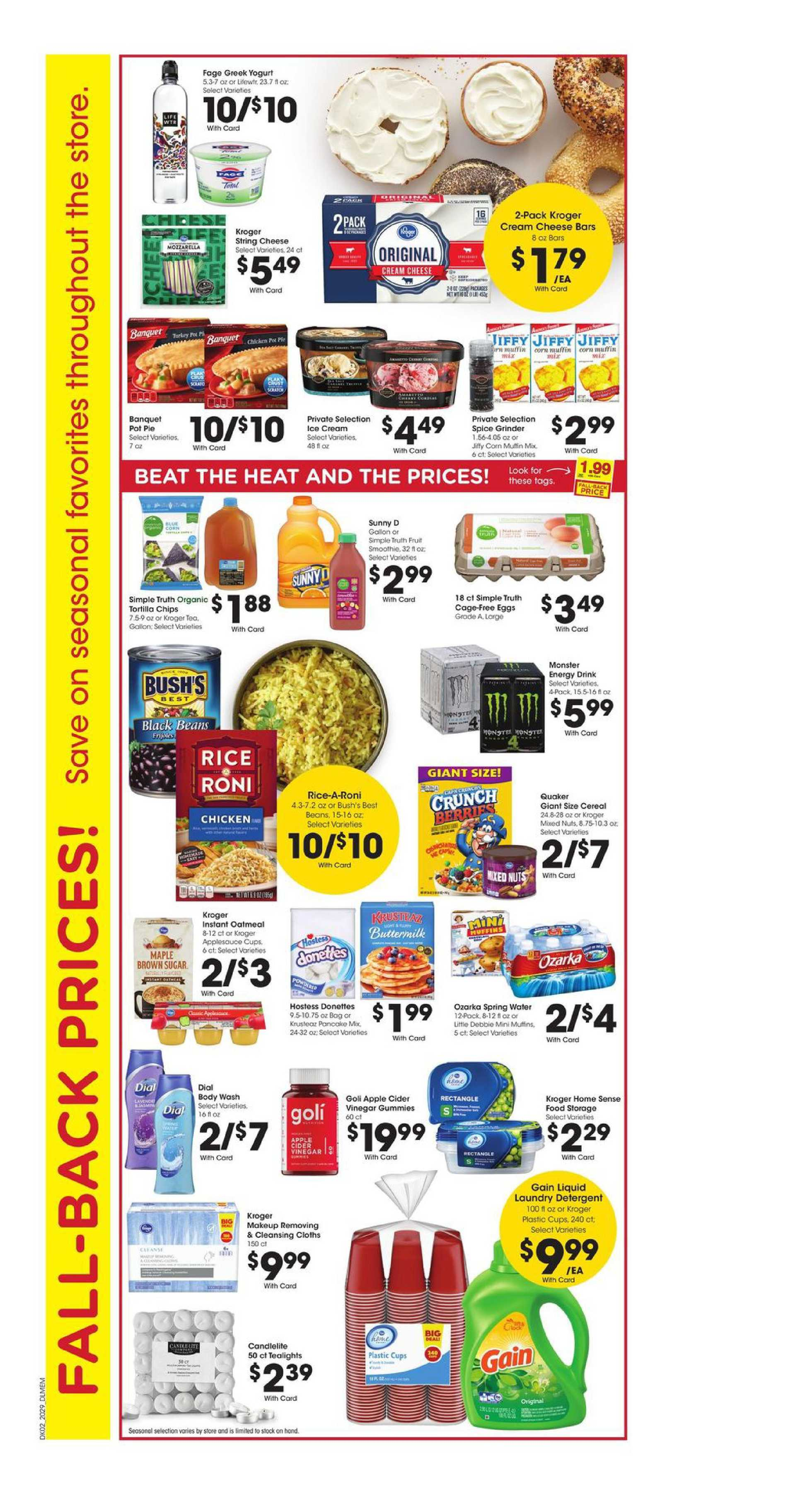 Kroger - deals are valid from 08/19/20 to 08/25/20 - page 3.