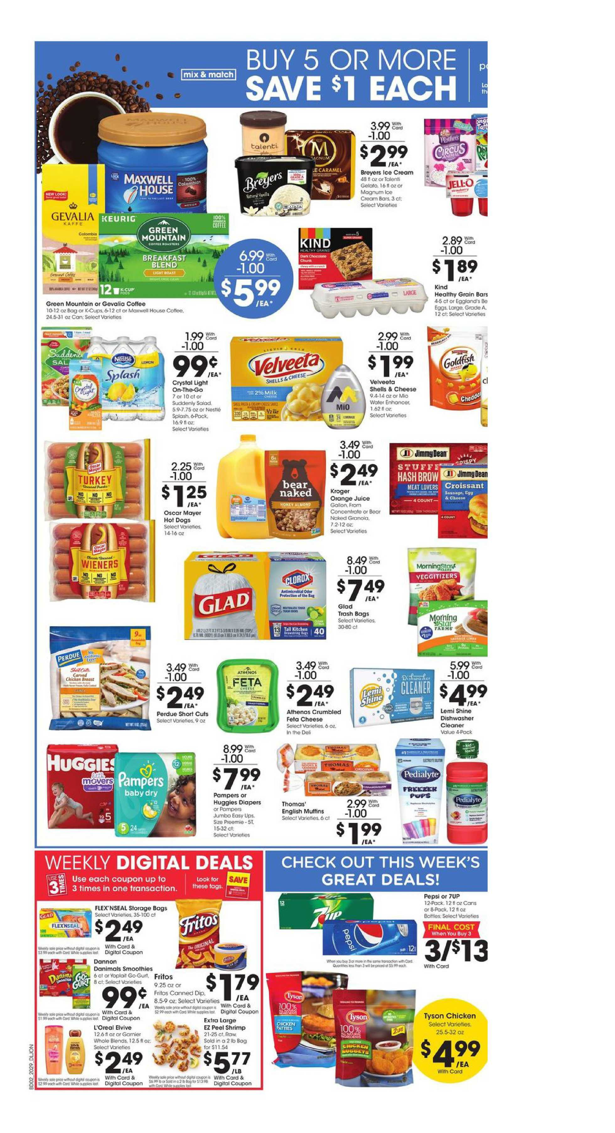 Kroger - deals are valid from 08/19/20 to 08/25/20 - page 4.