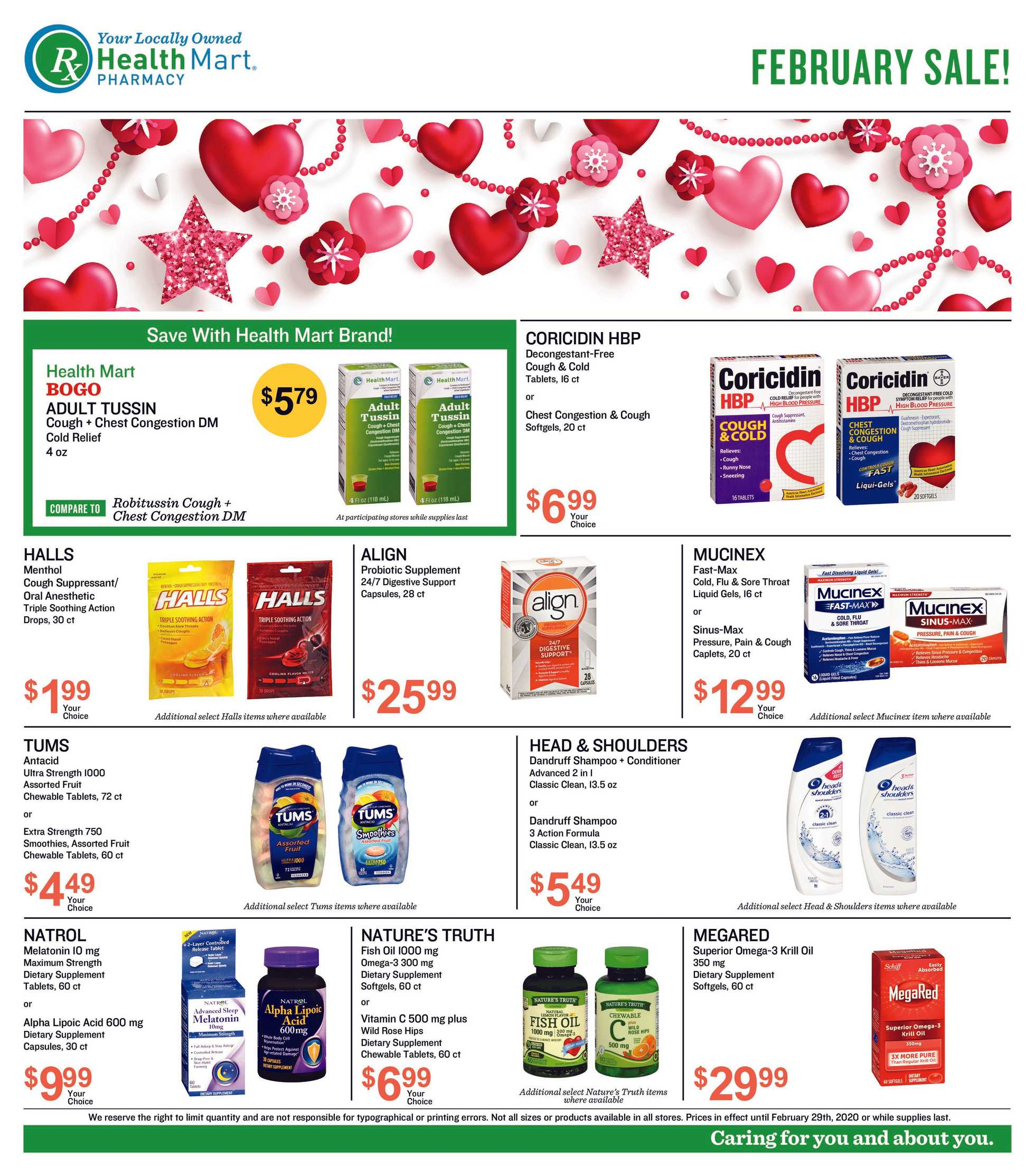 Health Mart Independent - promo starting from 02/01/20 to 02/29/20 - page 1.