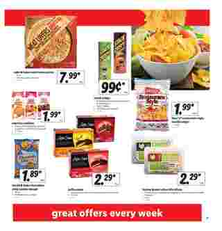 Lidl - deals are valid from 04/01/20 to 04/07/20 - page 7.