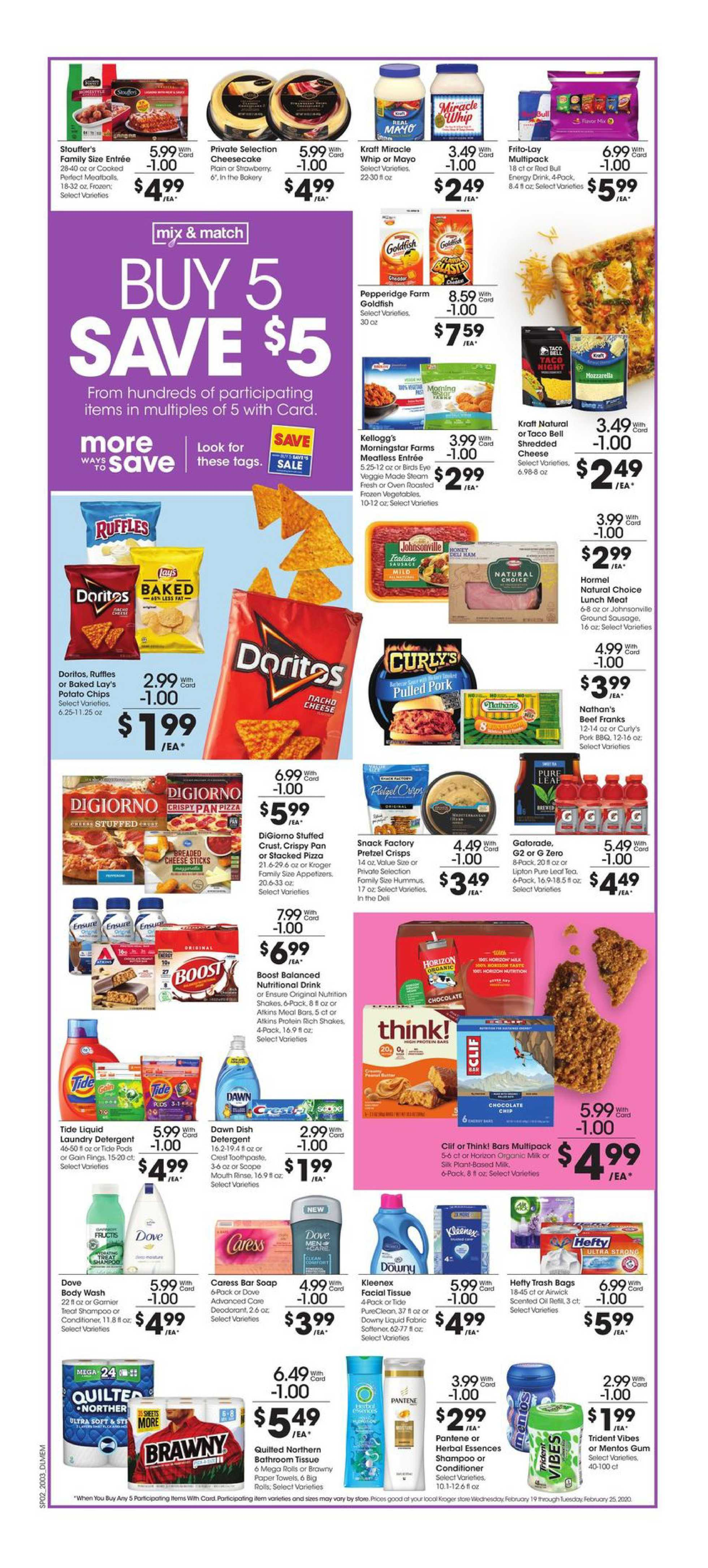 Kroger - deals are valid from 02/19/20 to 02/25/20 - page 3.