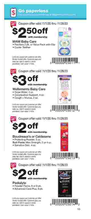 Walgreens - deals are valid from 11/01/20 to 11/28/20 - page 13.