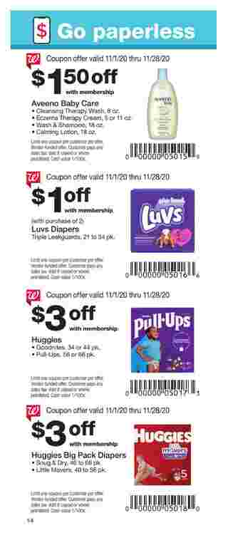 Walgreens - deals are valid from 11/01/20 to 11/28/20 - page 14.