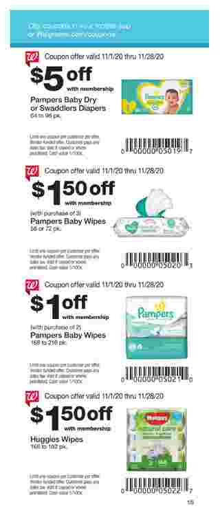 Walgreens - deals are valid from 11/01/20 to 11/28/20 - page 15.