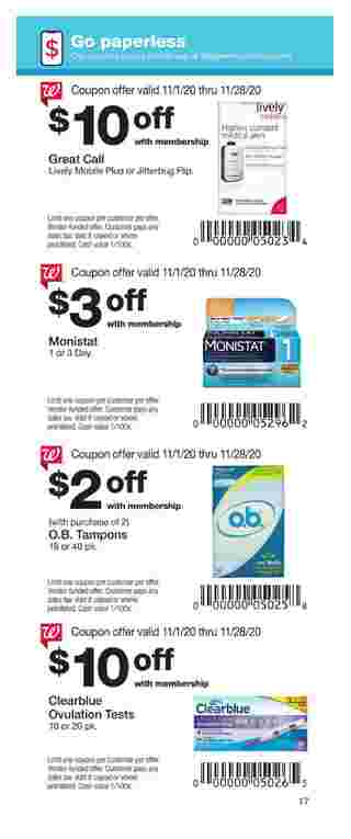 Walgreens - deals are valid from 11/01/20 to 11/28/20 - page 17.