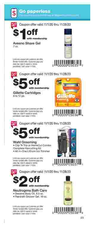 Walgreens - deals are valid from 11/01/20 to 11/28/20 - page 25.