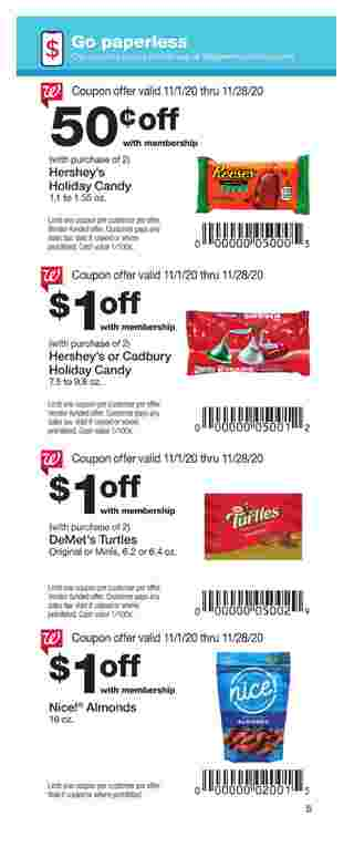 Walgreens - deals are valid from 11/01/20 to 11/28/20 - page 5.