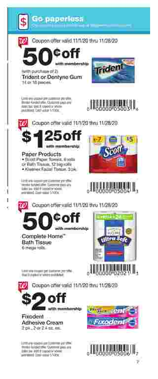 Walgreens - deals are valid from 11/01/20 to 11/28/20 - page 7.