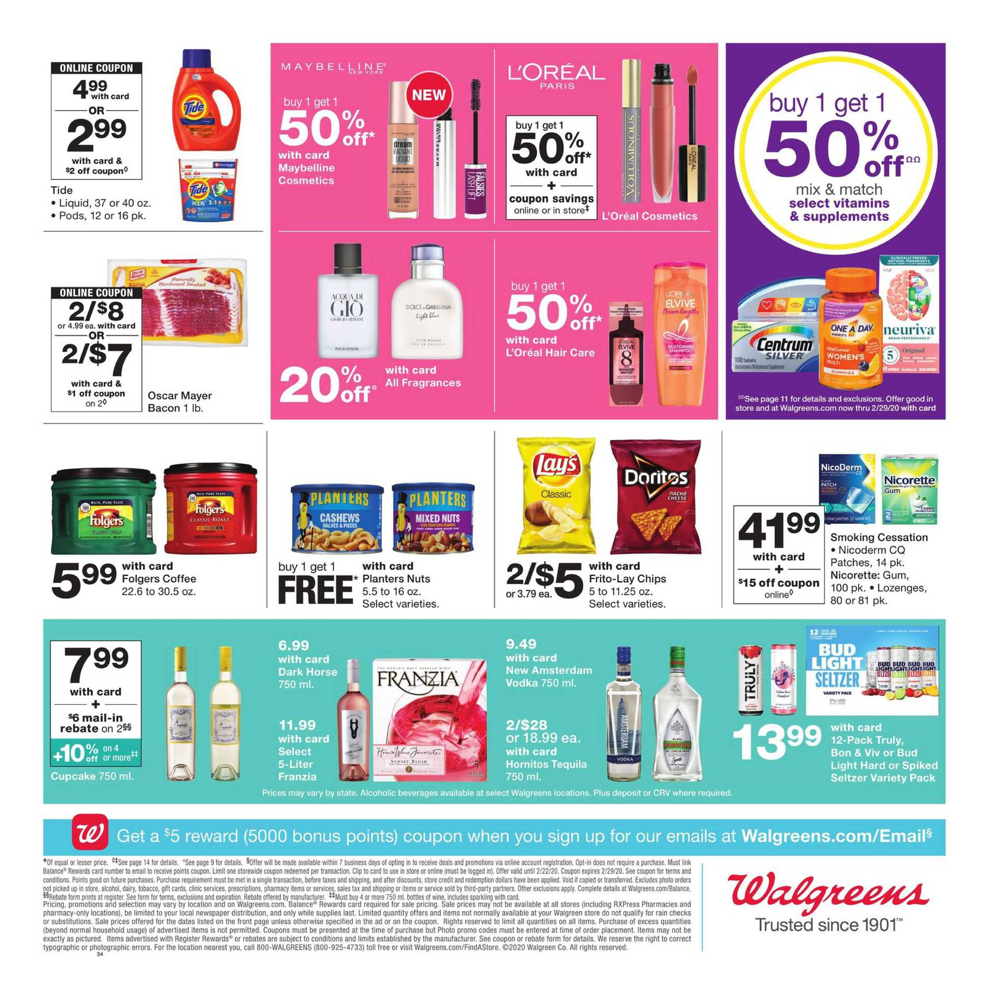 Walgreens - promo starting from 02/16/20 to 02/22/20 - page 2.